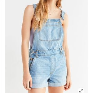 Overalls shorts